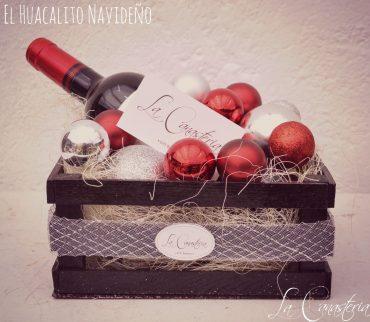 Arreglos de Vino Navideños