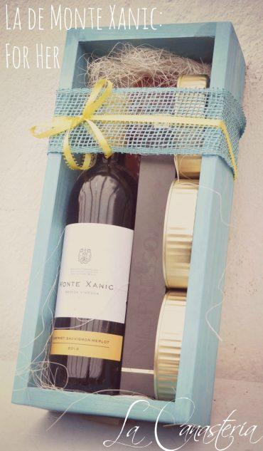 Arreglo de Vino Para Mujer