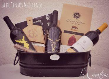 Arcones con vinos Mexicanos
