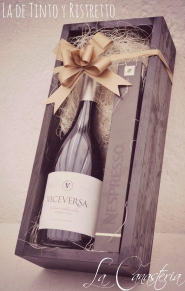 arcones navideños con vino, arreglos de vino navideños