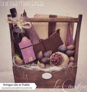 Canastas de regalo finas con fruta