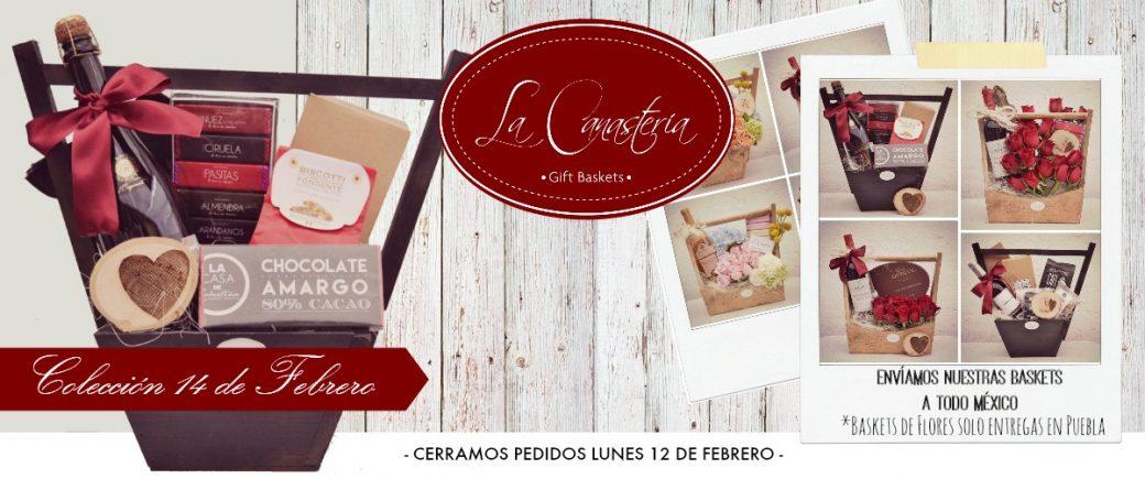 canastas, 14 de febrero, dia de san valentin, canastas de regalo para el 14 de febrero, canastas con envio, regalos para el 14 de febrero