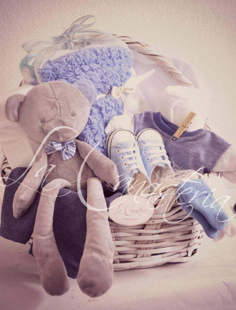 canastas de regalo de bebé la canastería