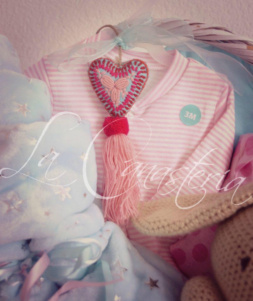 canastas de regalo para bebita