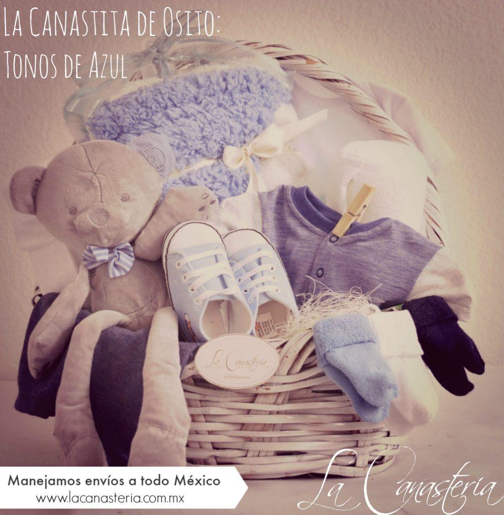 canasta de regalo para niño recién nacido df