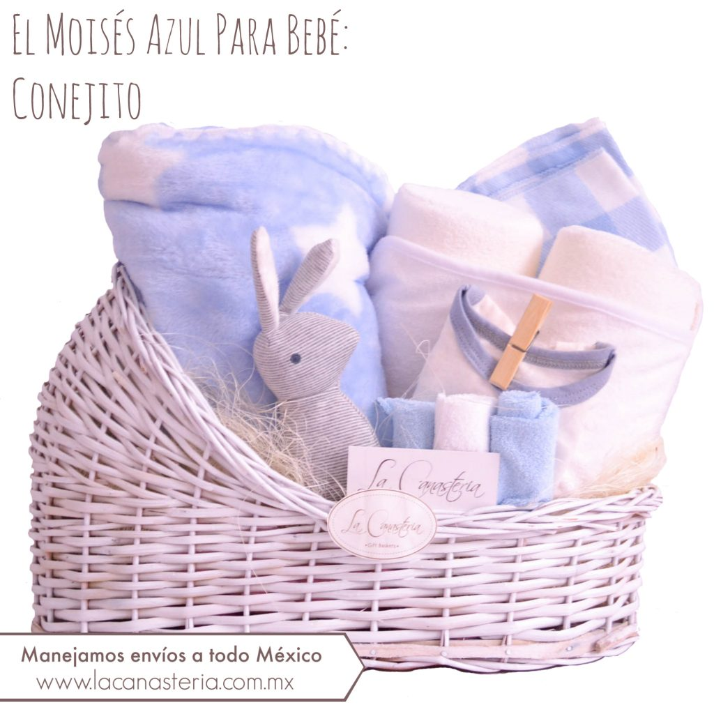 Canastas de Regalo para Bebé con entregas a todo Mëxico