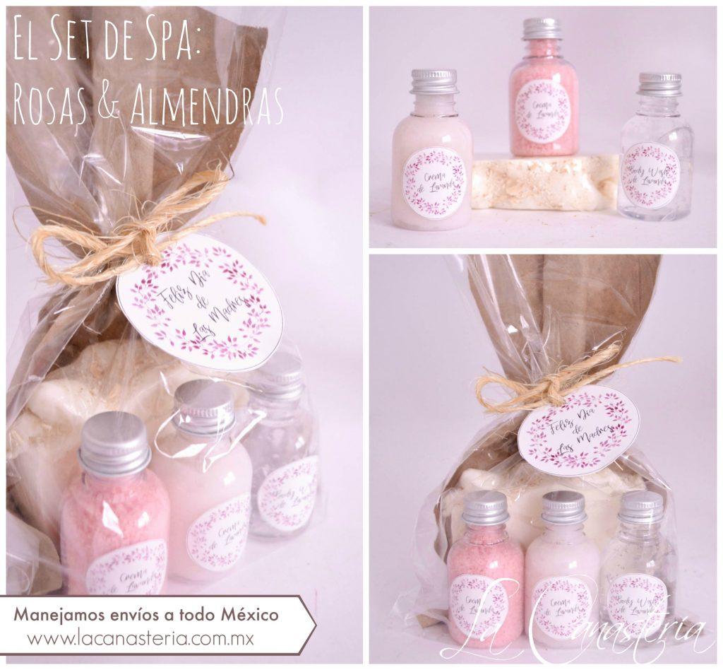 Sets de spa para regalos en empresas 10 de mayo dia de las madres