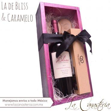 Arreglos de vino para regalos corporativos con diseño para mujer