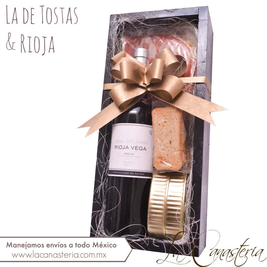 cajas de regalo con vino para regalos navideños en empresas
