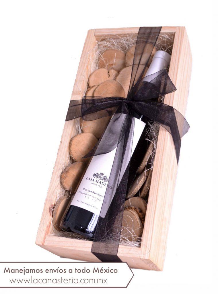 arcones navideños con vino mexicano, arcones navideños con vino orgánico,