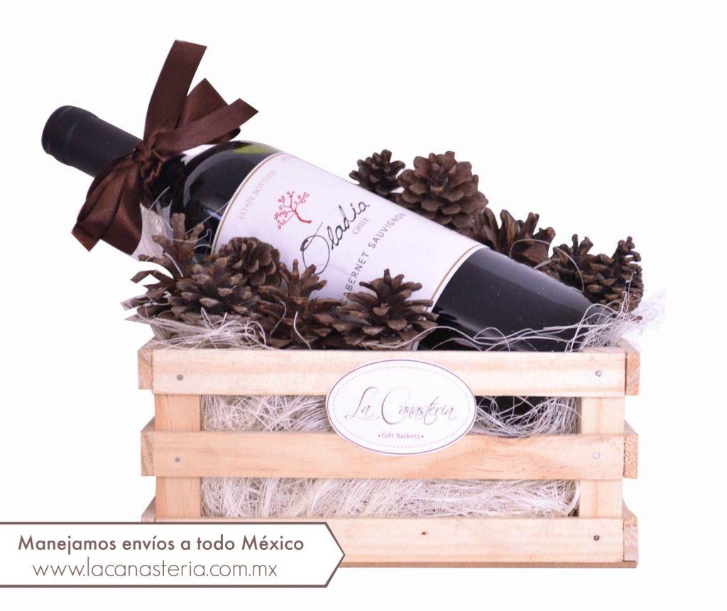Arreglos de vino navideños para empresas cdmx puebla queretaro monterrey guadalajara veracruz