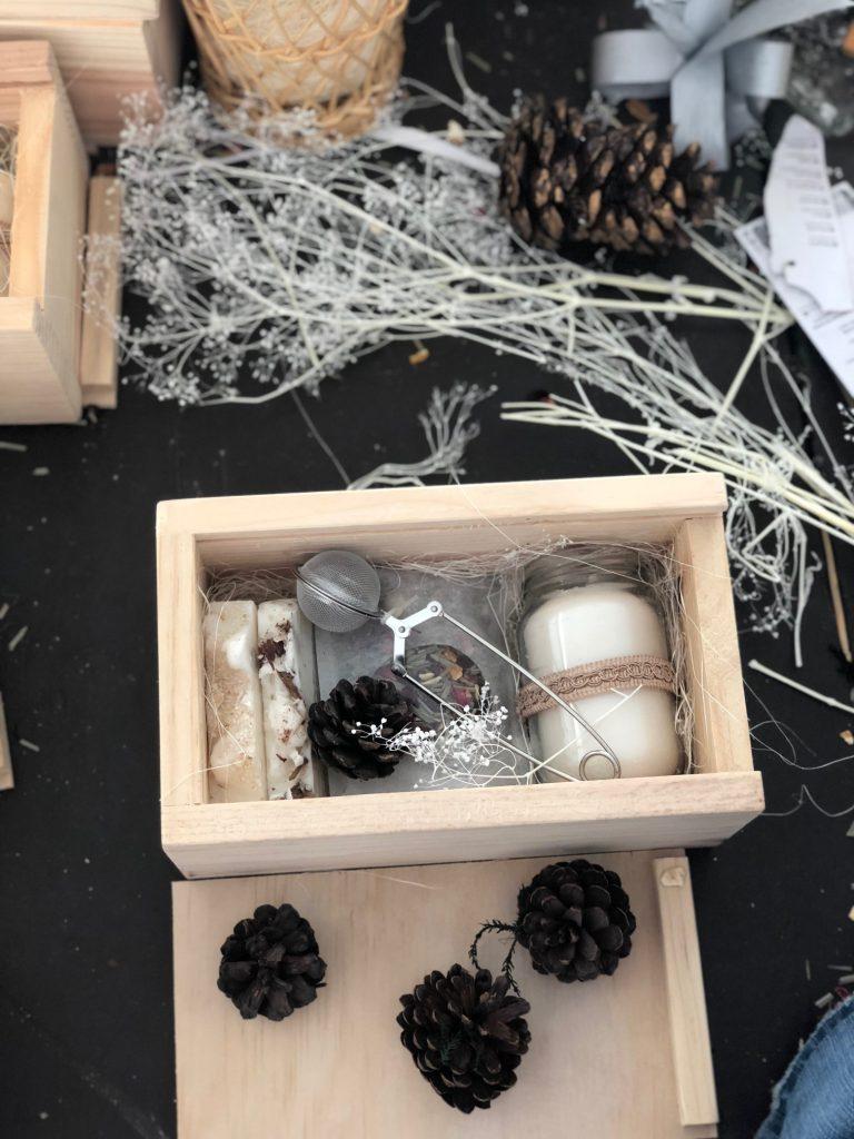 Cajas de regalo con kit de té cdmx