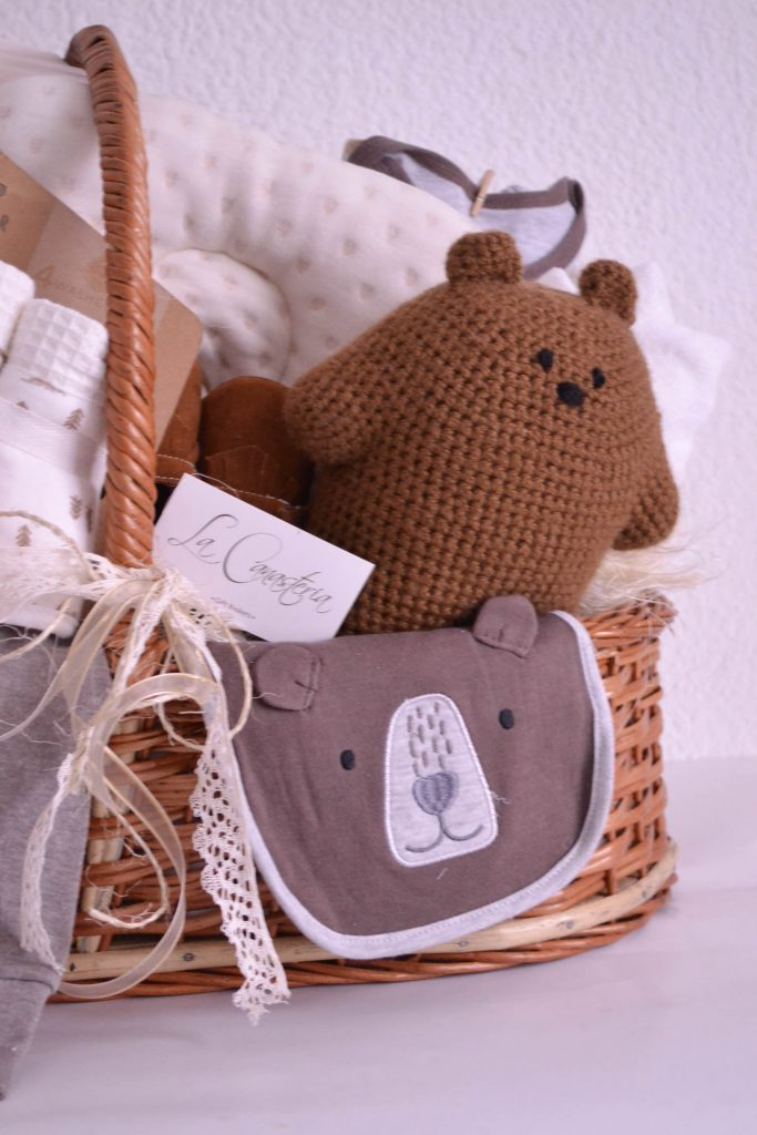 Canasta de regalo para nino recien nacido cdmx