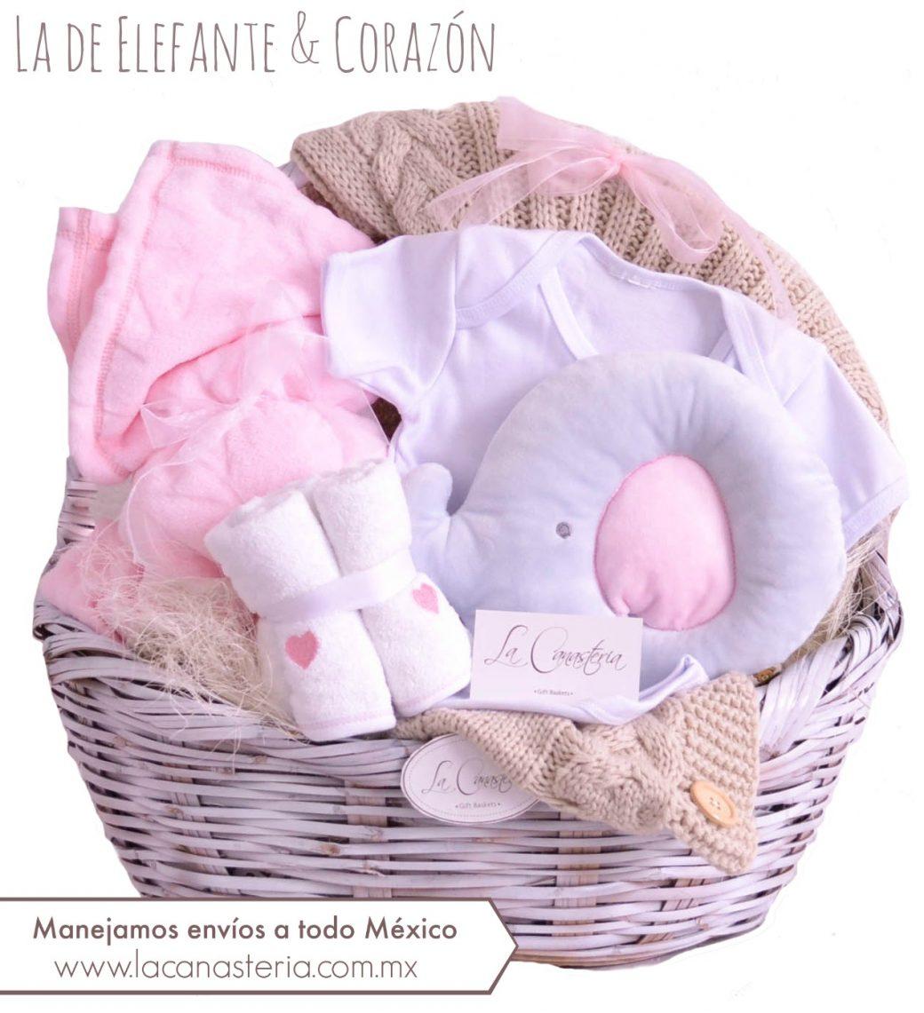 canastas de regalo para recién nacida cdmx puebla queretaro monterrey guadalajara veracruz