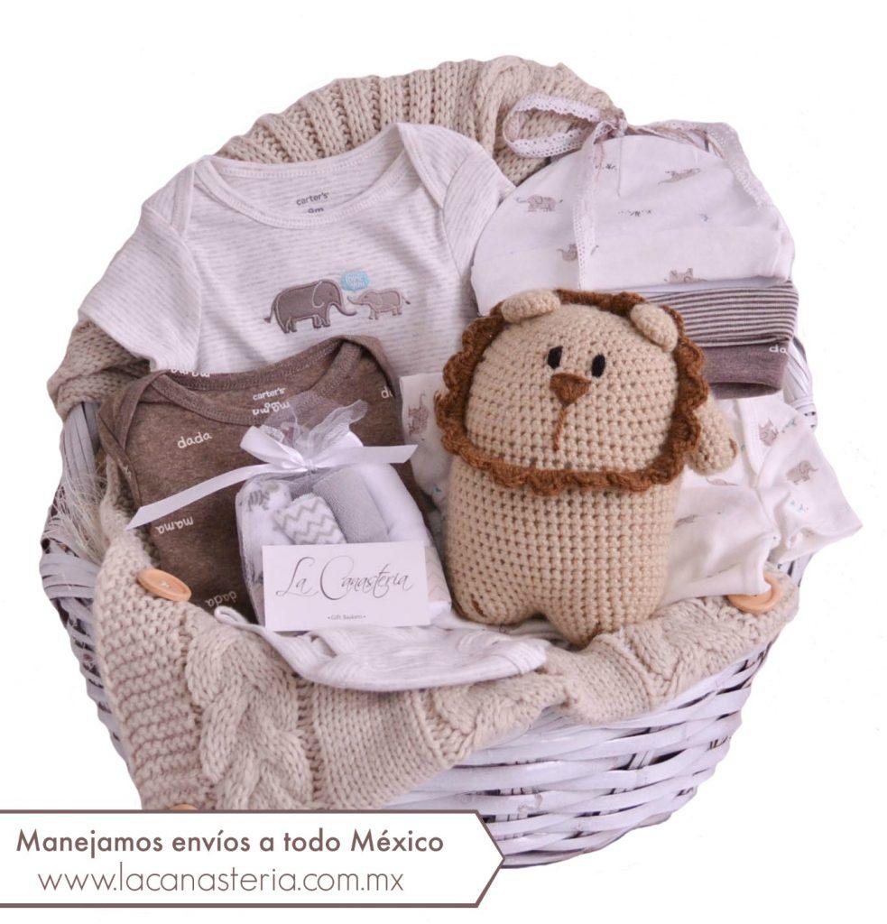 Canasta de Regalo para niño recién nacido