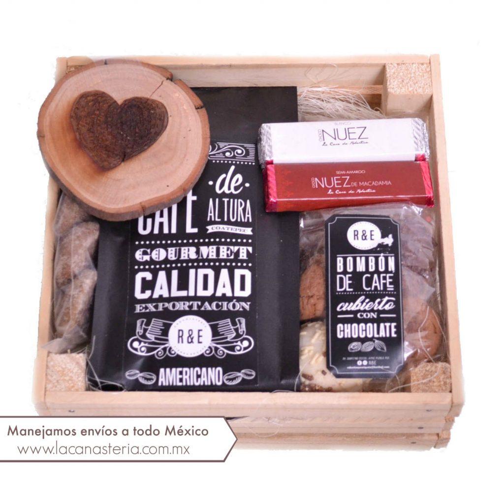 Cajas de regalo para el 14 de Febrero con chocolates y envió a domicilio en todo México
