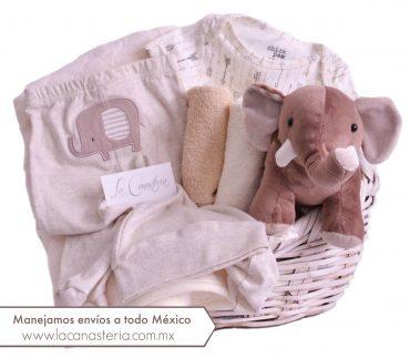 Hermosas canastas de regalo finas para recién nacido con enviós a todo México