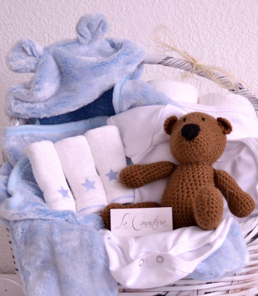 Canasta de regalo para niño recién nacido con envíos a todo México
