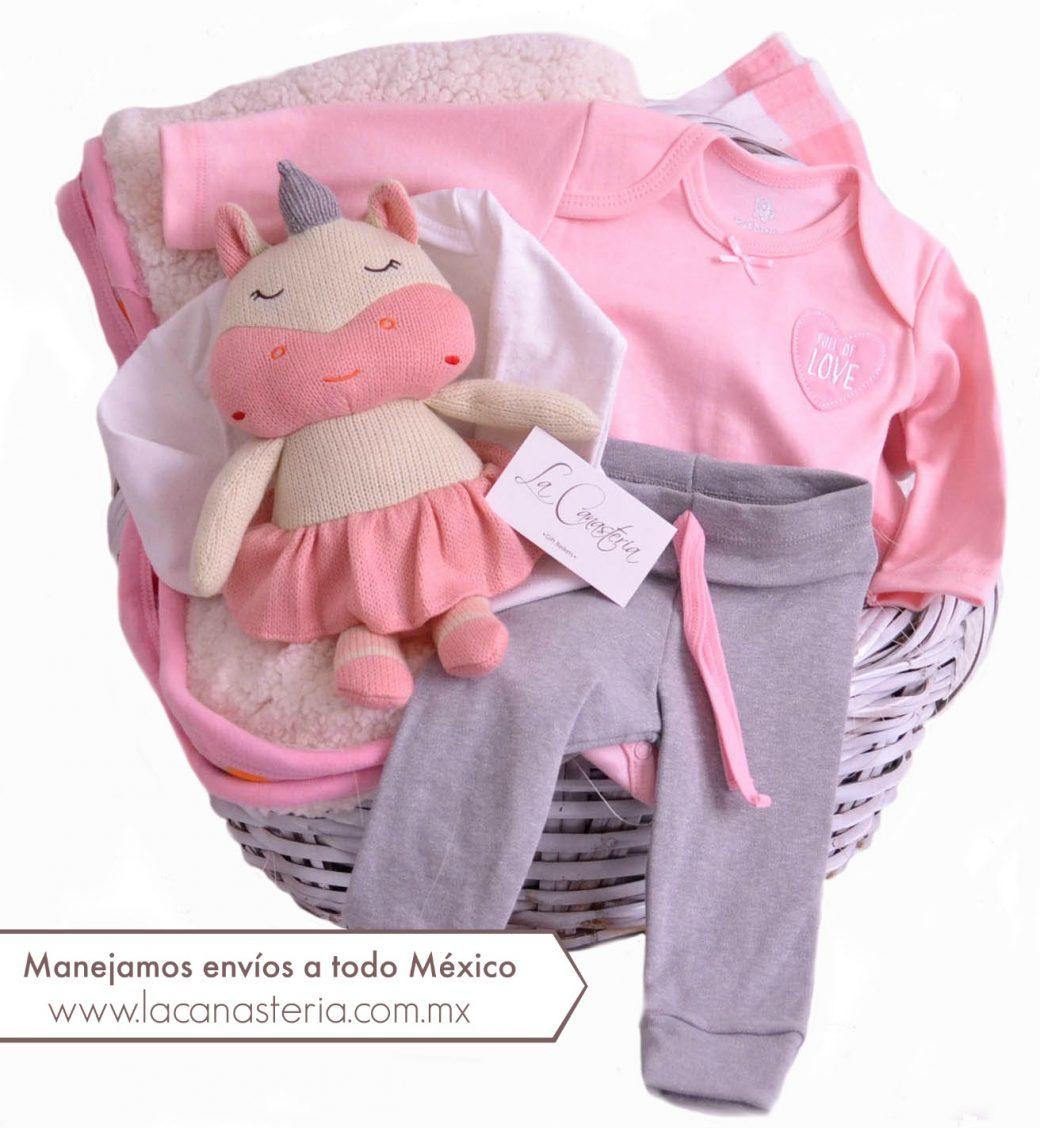Canastas de Regalo para niña recién nacida con envío a domicilio México