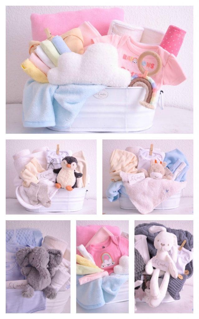 Canastas de regalo elegantes para bebé df cdmx puebla monterrey guadalajara veracruz