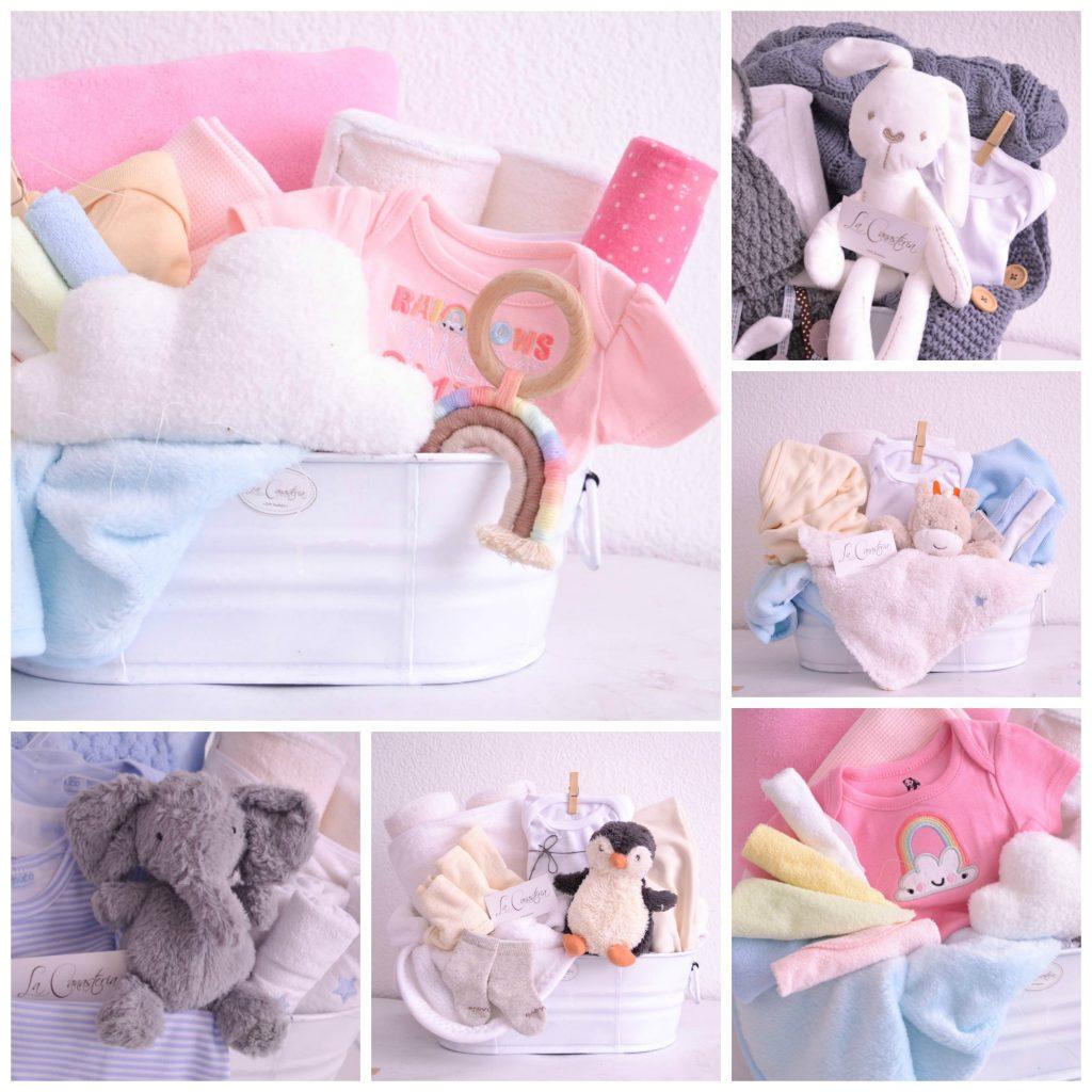 Canastas de regalo originales para Bebé