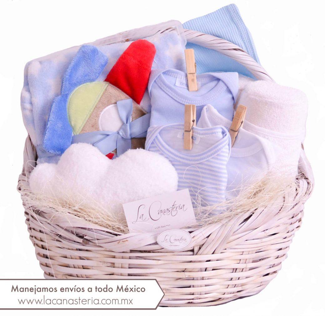 canastas de regalo para niño recién nacido df